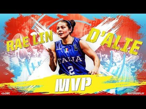 Rae Lin D'Alie | MVP Mixtape | FIBA 3x3 World Cup 2018
