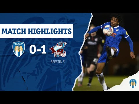 Colchester Scunthorpe Goals And Highlights