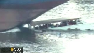 On tape: Deadly barge, tour boat collision