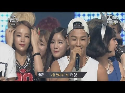 TAEYANG -'눈,코,입(EYES, NOSE, LIPS)' 0703 M COUNTDOWN : NO.1 OF THE WEEK