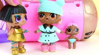 Куклы Лол Мультик! Семейка Фараон в поисках новых питомцев #Лол Сюрприз! Lol Baby Dolls