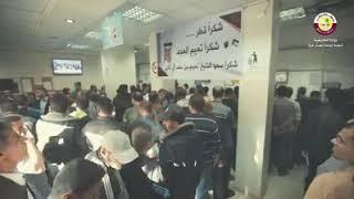 #شاهد || السفير محمد العمادي ونائبه خالد الحردان  يتفقدان مراكز توزيع المساعدات القطرية بغزة