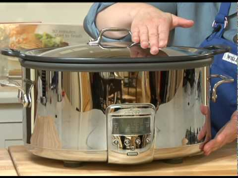Some Important Features Of The All Clad Deluxe Slow Cooker Williams Sonoma You