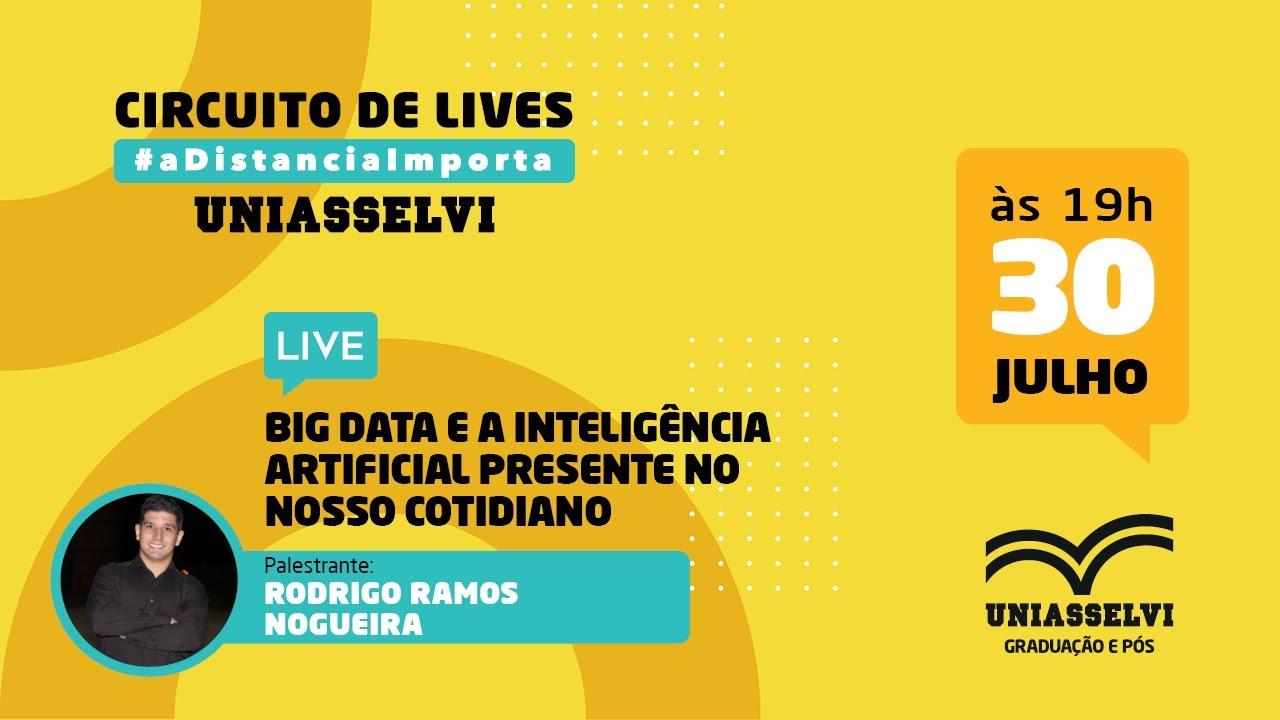 Download LIVE - Big data e a inteligência artificial presente no nosso cotidiano | UNIASSELVI