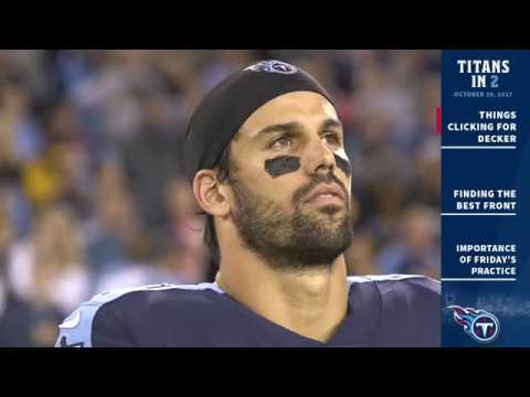 Titans in 2: Things Clicking for WR Eric Decker