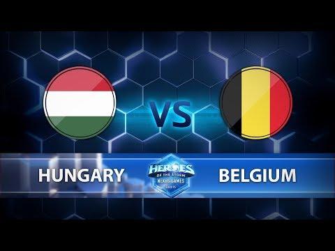 Nexus Games Europe - Group B Match 5 – Hungary vs. Belgium - Game 1
