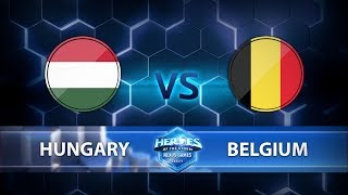 Nexus Games Europe - Group B Match 5 - Hungary vs. Belgium - Game 1