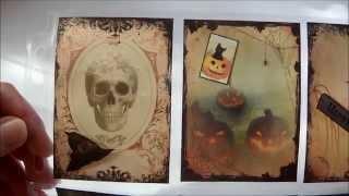 Halloween - Karten und Poketletter