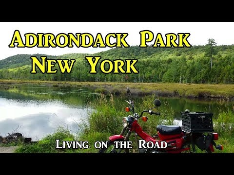 Adirondack Park New York - Living On The Road