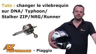 Tuto Changer le vilebrequin de son Typhoon / Stalker / Zip / ...