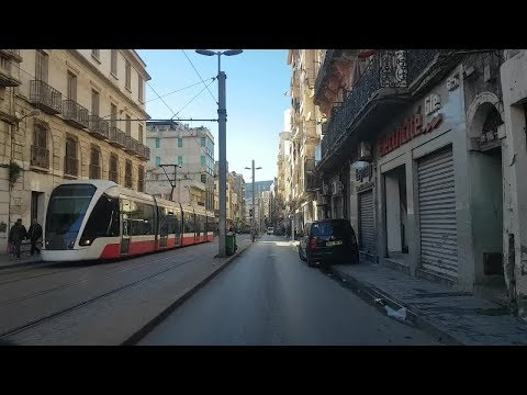Driving in oran Algérie 15 01 2019 وهران الجزائر
