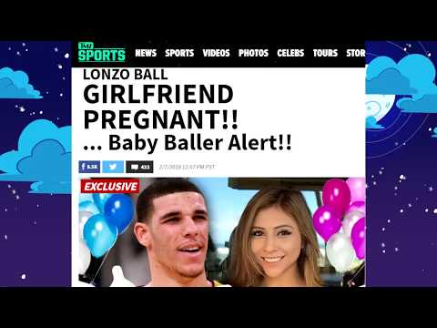 Lonzo Ball and Girlfriend Denise expecting first child together