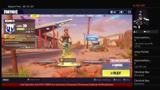 Fortnite with sexyy girl| PS4 LIVESTREAM GAMEPLAY