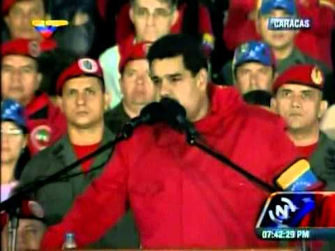 Maduro le pide a Capriles que trabaje