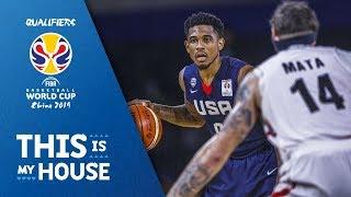 USA v Mexico - Full Game - FIBA Basketball World Cup 2019 - Americas Qualifiers