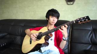 Kotaro Oshio) Twilight   Sungha Jung Acoustic Tabs Guitar Pro 6