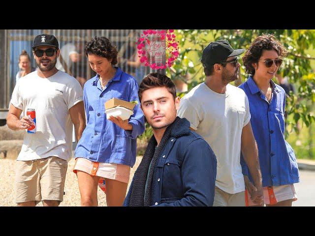Zac Efron New Girlfriend Vanessa Valladares.