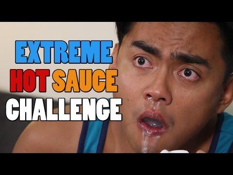EXTREME HOT SAUCE CHALLENGE