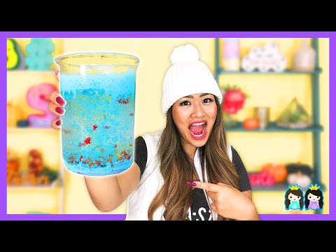 Easy DIY Kids Science Experiments to Do at Home! Frozen 2 Snowstorm in a Jar