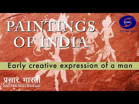 Painting of India - Early Creative Expression of Man
