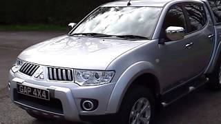 Silver Mitsubishi l200 warrior long bed in silver with black leather 2010/10(, 2013-04-29T18:27:23.000Z)