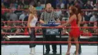 Trish Vs Christy Arm Wrestling