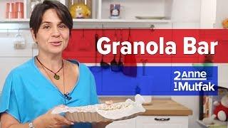Sağlıklı Beslenme Çantası #4 - Ev Yapımı Granola Bar | İki Anne Bir Mutfak