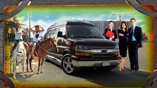 Очень спорный микроавтобус.  Chevrolet Express