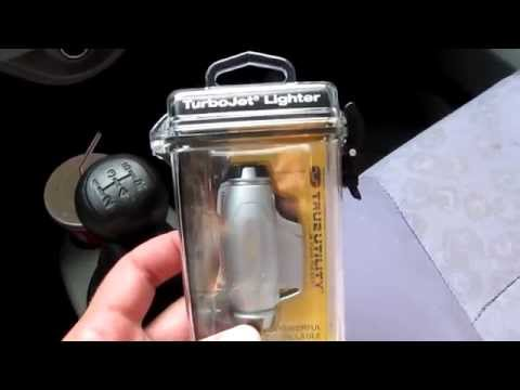Unboxing. Зажигалка True Utility Turbo Jet Flame Lighter