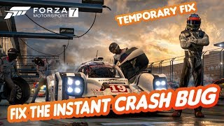Forza 7: [PC] How To Fix The Instant Crash