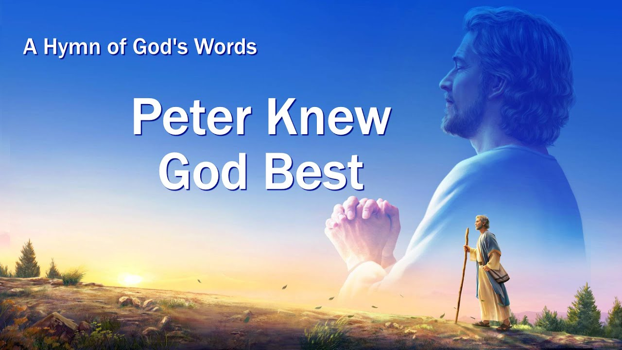 """English Christian Devotional Song With Lyrics   """"Peter Knew God Best"""""""