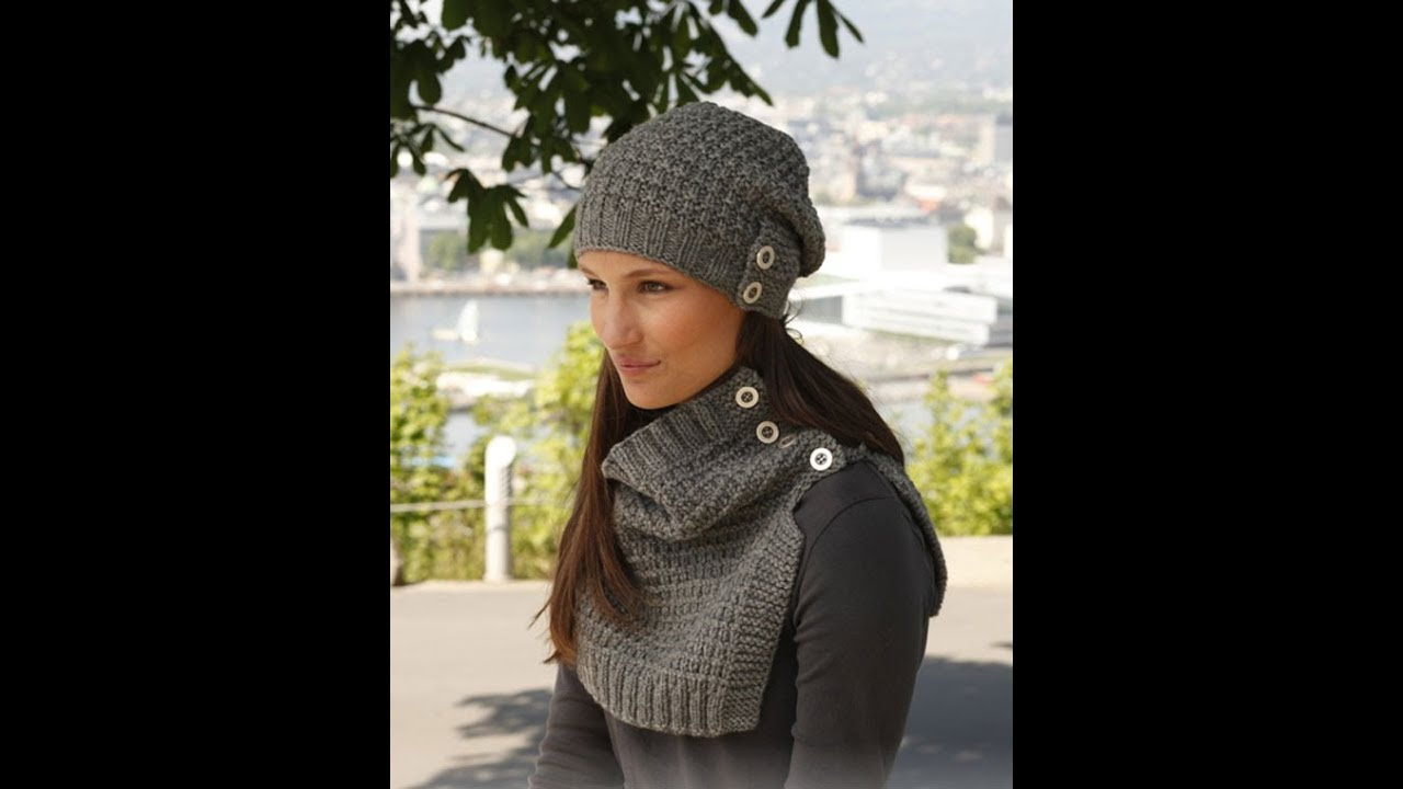 Novelty Knitting Needles : Knitted hats of fashion trends shapes a novelty