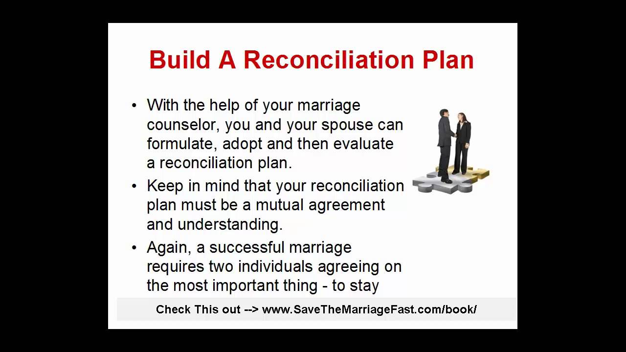 Reconciliation after separation success