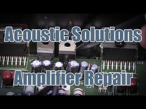 SDGEE #020 Teardown & Repair of Acoustic Solutions SP101 Hi-Fi Amplifier - Error U52 U53