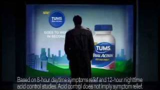 New Tums Dual Action Commerical:  Love Lost