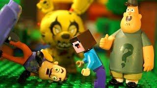 СУПЕР БОРИСКА 💀 Лего НУБик Майнкрафт Анимация Мультфильмы для Детей - LEGO Minecraft Мультики