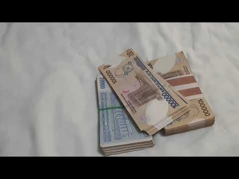 Exclusive! Counting 15 000 000 Cash In My Bed - Millionaire