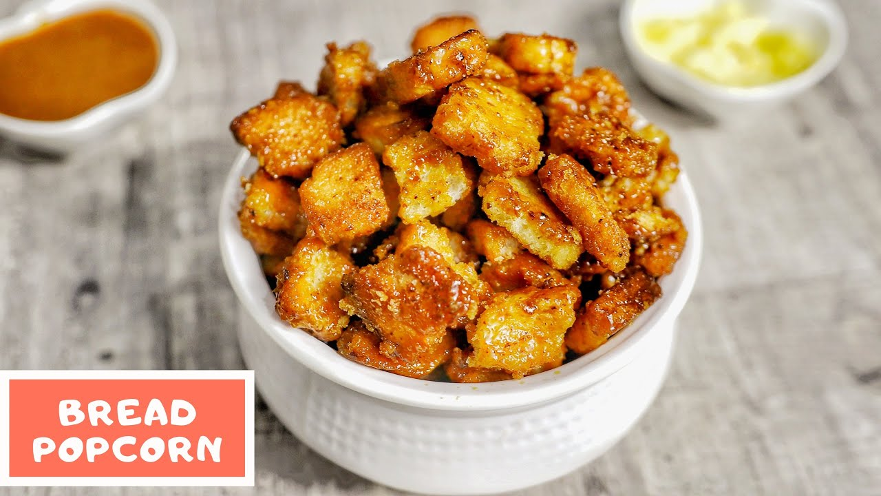 Caramel Bread Popcorn 🍿- kids special bread popcorn- कैरेमल ब्रेड पॉपकॉर्न- with English subtitles
