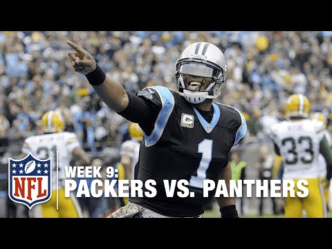 Julius Peppers Refuses to Give Cam Newton the Football after TD | Packers vs. Panthers | NFL