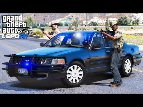 GTA 5 LSPDFR #525 | Fugitive Task Force | Tracking Down The Most Wanted Criminals In Blaine County