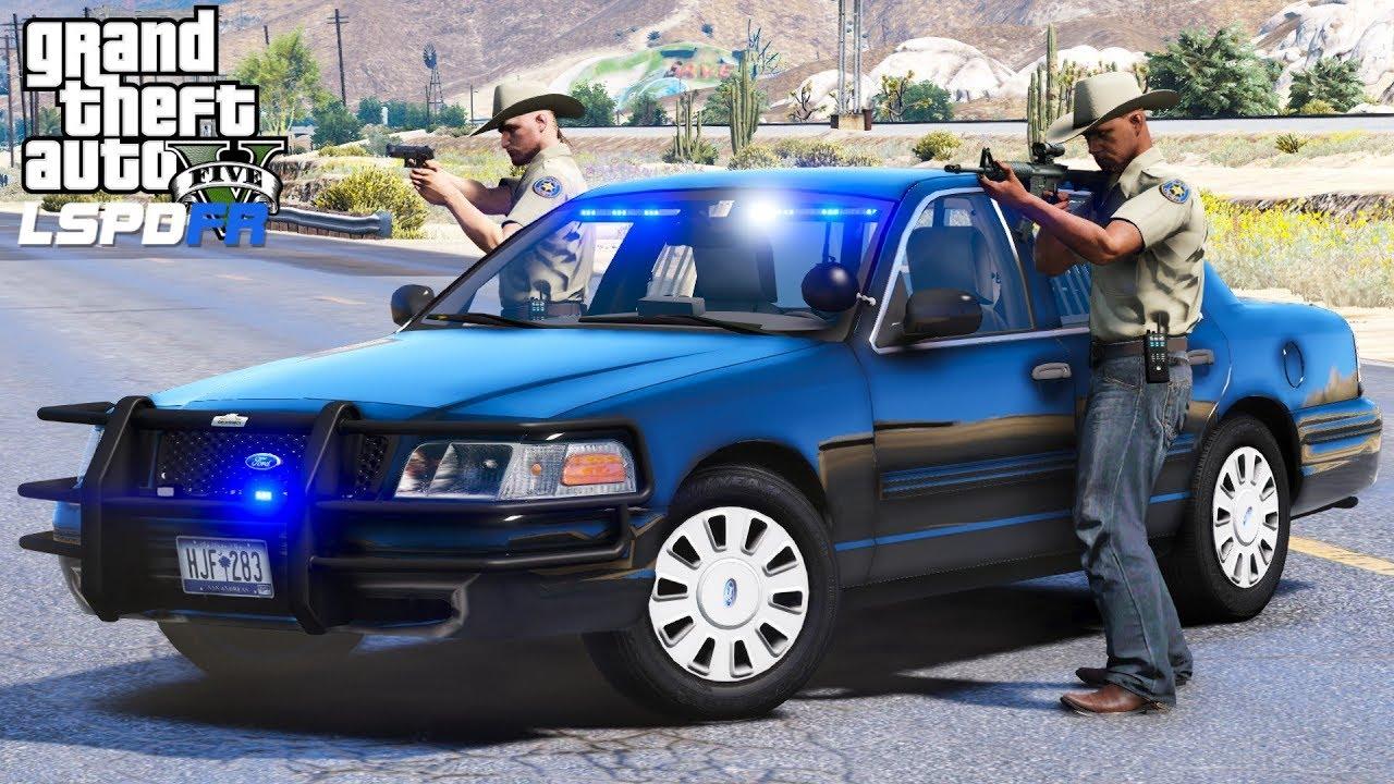 GTA 5 LSPDFR #525 | Fugitive Task Force | Tracking Down ...