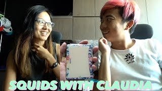 Checking out Squids by Pocketprk with Claudia Seow. (Cardistry Toy)