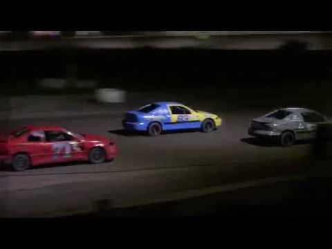Ransomville Speedway 4 Cylinder Feature Highlights 8-31-18