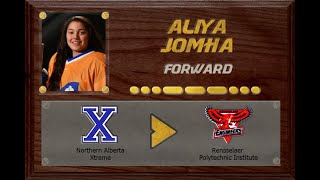 Aliya Jomha - CSSHL to NCAA D1 | Stand Out Sports Client Hall of Fame