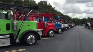 Pick a color, any color... Big Rig Peterbilt Trucks