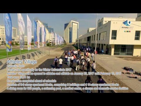 Athletes Village - 28th Winter Universiade, Almaty, Kazakhstan