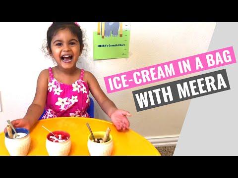 Quick and Easy Homemade Ice Cream | IN A BAG (NO MACHINE!) | Meera's Corner