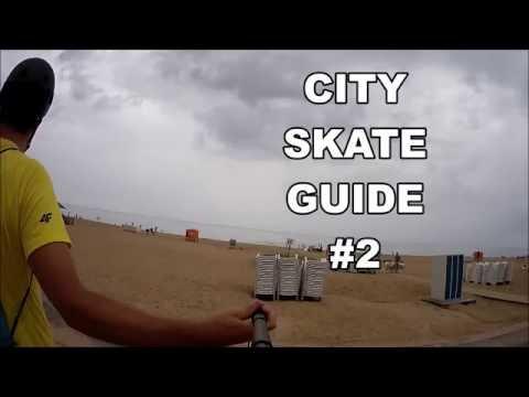 Riga Mezapark to VECAKI BEACH - City Skate Guide #2