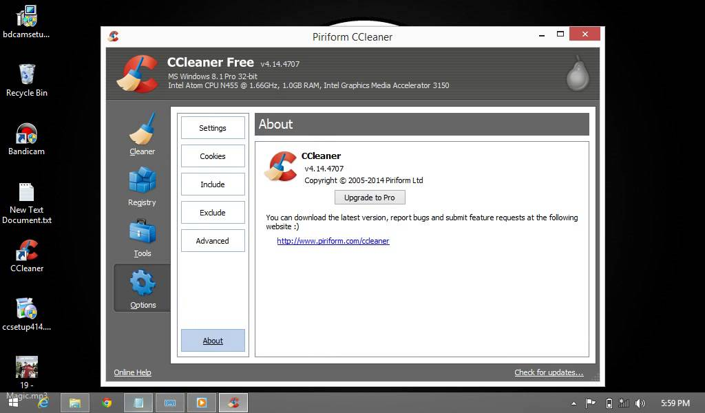 HOW TO ACTIVATE CCleaner PRO LICENSE KEY ACTIVATE ALL ...