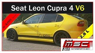 Seat Leon Cupra 4 2,8 V6 4 Motion 0-100 Exhaust Sound by Motorsportcheck